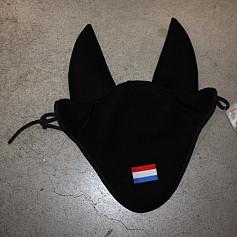 Manmat oornetje Zwart Nederlandse vlag