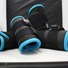 Beenbeschermer ManMat maat M licht blauw